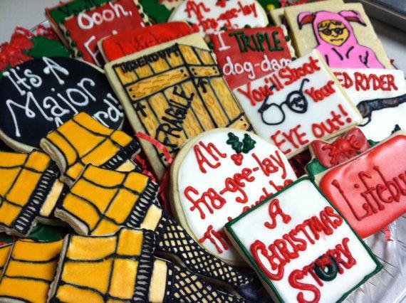 Christmas Story Cookies  Movie Quoting Cookies A Christmas Story Cookies