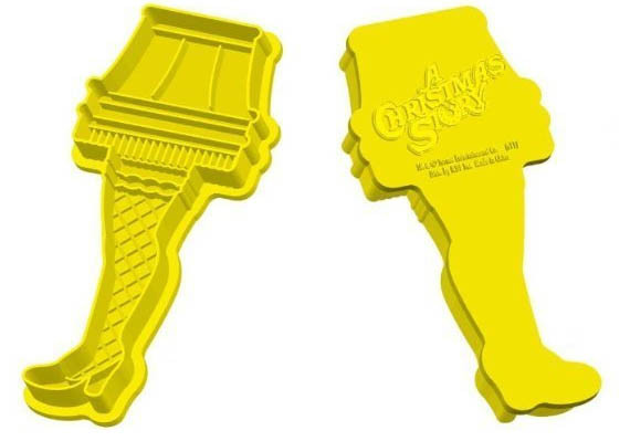 Christmas Story Lamp Cookies  Careful These Leg Lamp Cookies Are Frag ee lay