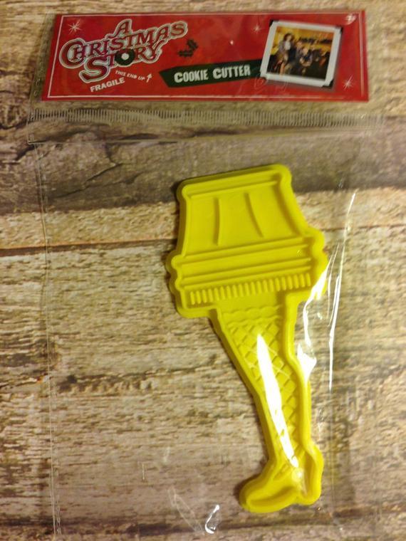 Christmas Story Lamp Cookies  X1 A Christmas Story Leg Lamp Cookie Cutter Christmas