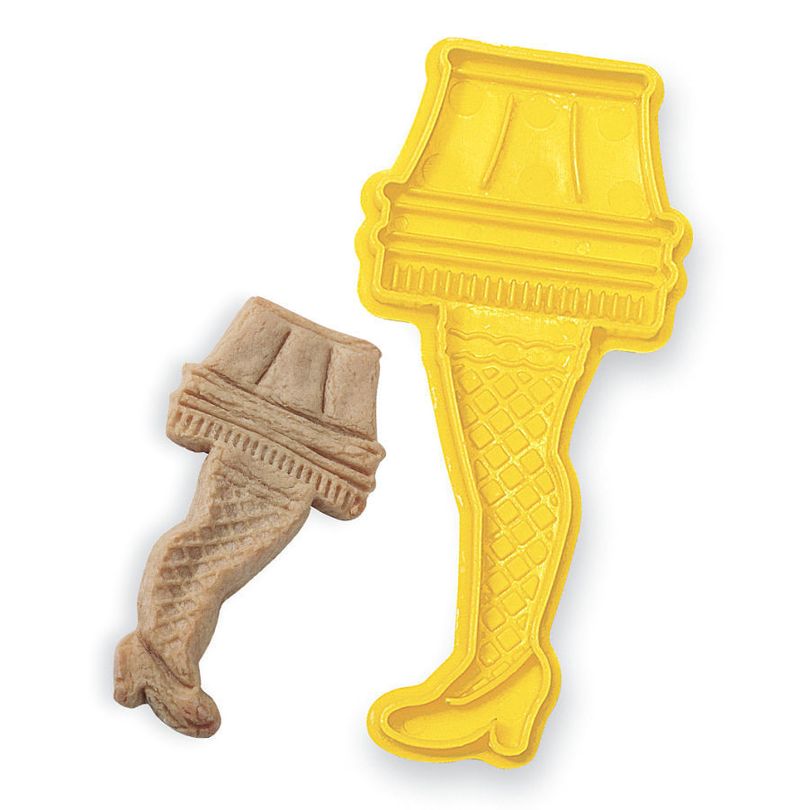 Christmas Story Lamp Cookies  Leg Lamp Cookie Cutter A Christmas Story Gifts