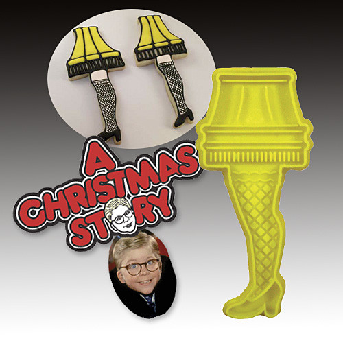 Christmas Story Lamp Cookies  A Christmas Story Leg Lamp Cookie Cutter