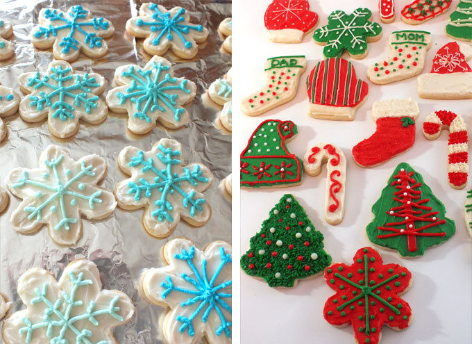 Christmas Sugar Cookie Icing Recipe  The Best Sugar Cookie Recipe Two Sisters