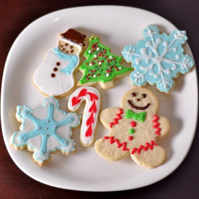 Christmas Sugar Cookie Icing Recipe  foo Blog Archive Christmas Sugar Cookies