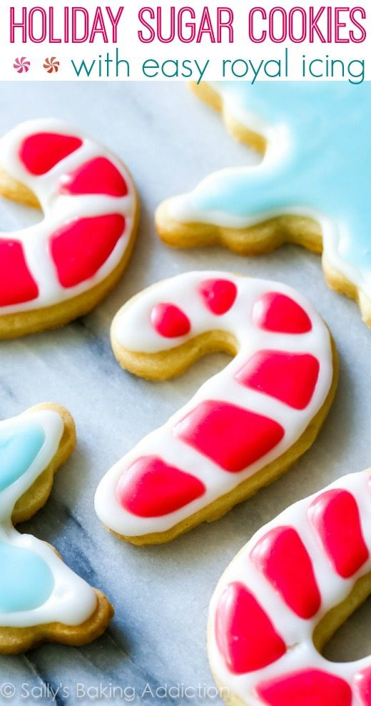 Christmas Sugar Cookie Icing Recipe  Christmas Sugar Cookies with Easy Icing