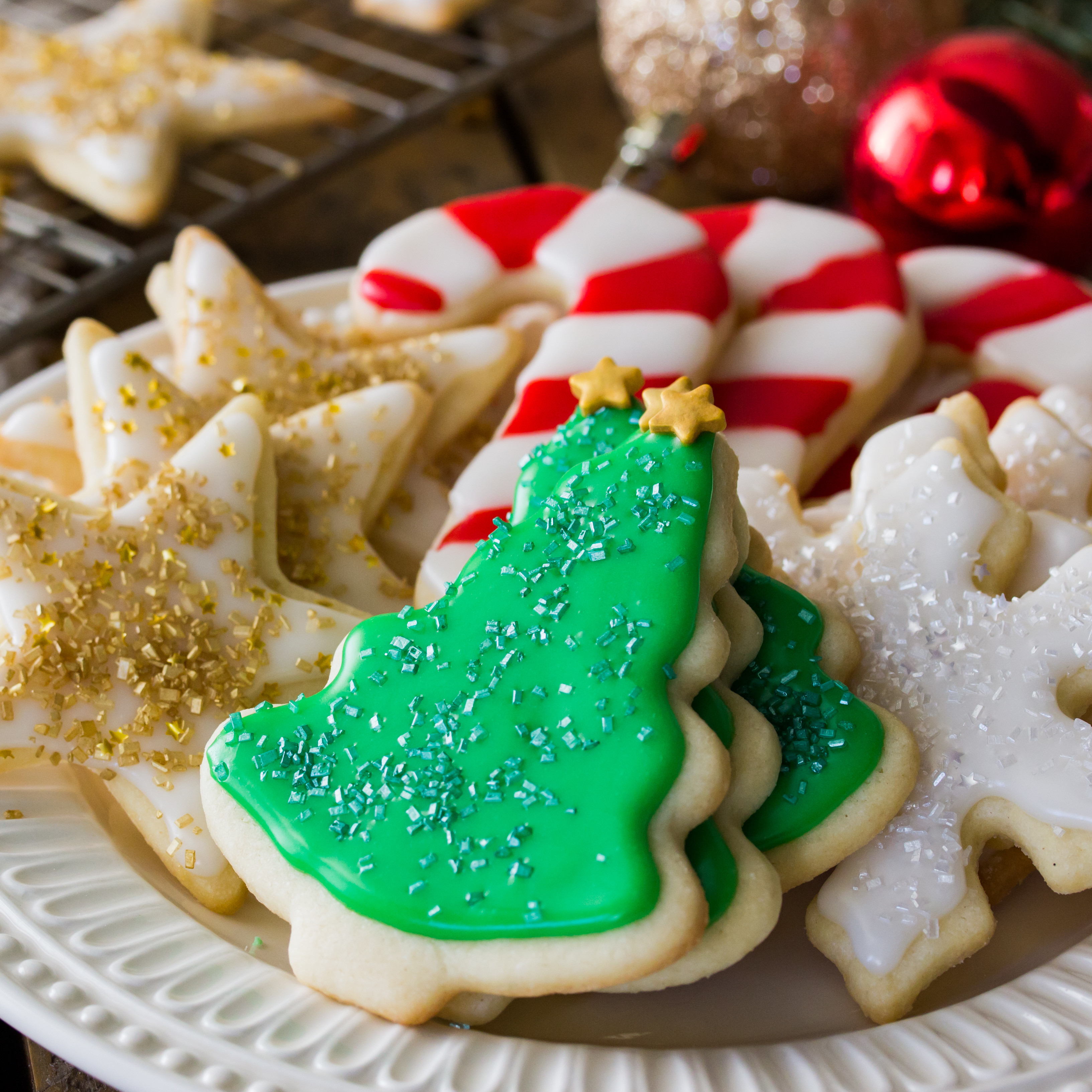 Christmas Sugar Cookies Recipes  Easy Sugar Cookie Recipe With Frosting Sugar Spun Run