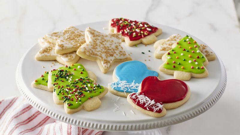 Christmas Sugar Cookies Recipes  Classic Christmas Sugar Cookie Cutouts Recipe