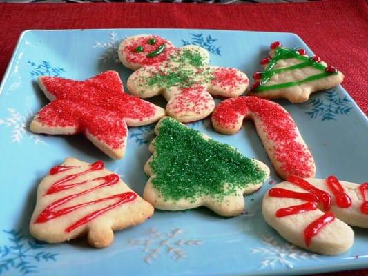 Christmas Sugar Cookies Recipes  Christmas Sugar Cookies Recipe 1 Point Value LaaLoosh
