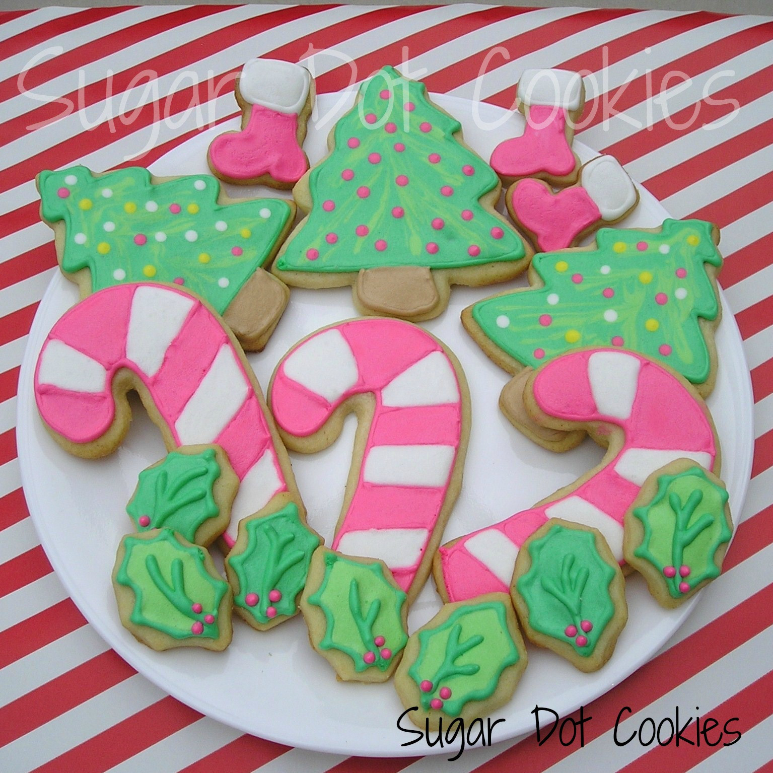 Christmas Sugar Cookies With Icing  Would you like to see last year s collection My first