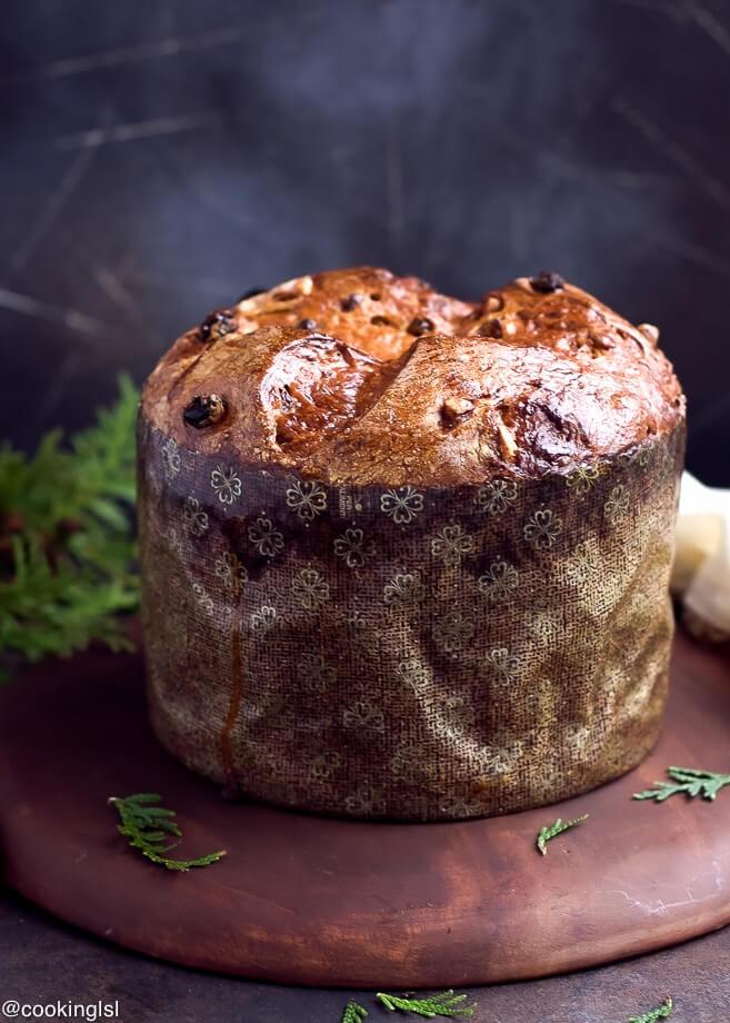 Christmas Sweet Bread  Easy Homemade Italian Christmas Bread Panettone Recipe