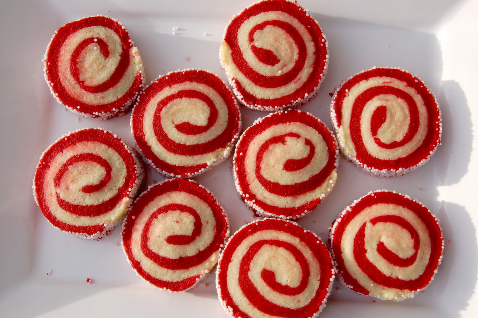 Christmas Swirl Cookies  Handmade Holiday Cookie Pinwheels The Shine Project