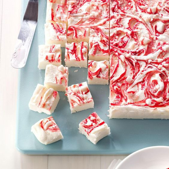 Christmas Swirl Fudge  Fudge Recipes 20 Awesome Treats for Holiday Parties