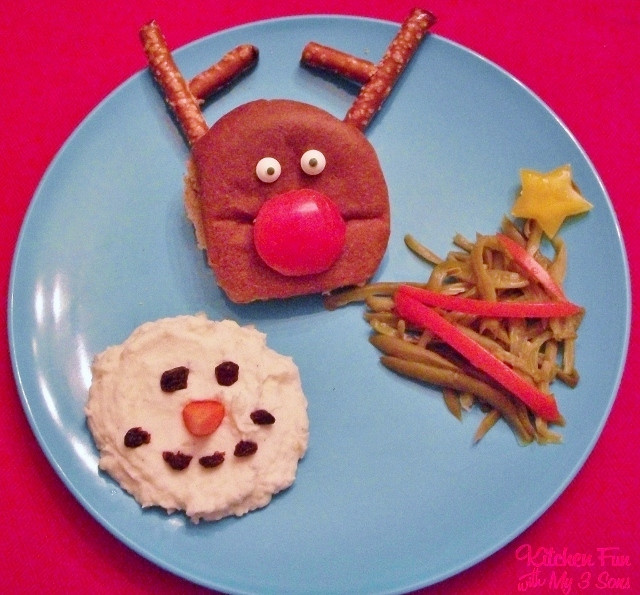 Christmas Themed Dinners  Christmas Dinner Ideas for Toddlers & Kids Kitchen Fun