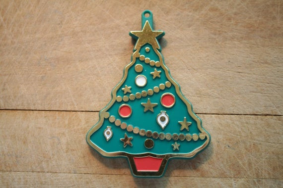 Christmas Tree Cookies Cutter  Hallmark Christmas Tree Painted Cookie Cutter