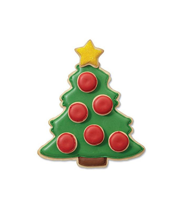Christmas Tree Cookies Cutter  Wilton 1 Cookie Cutter Christmas Tree 2 Mini Cookie