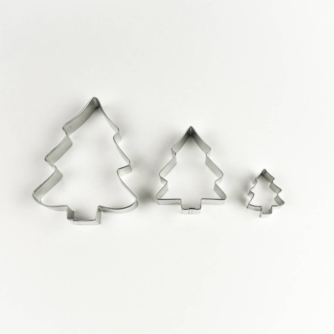 Christmas Tree Cookies Cutter  R and M Christmas Tree Cookie Cutter Set