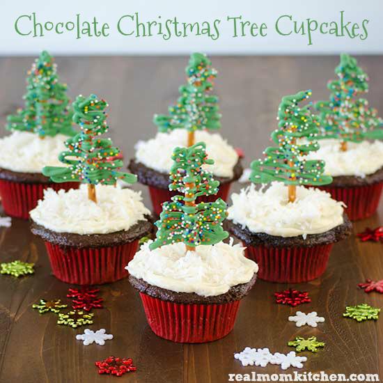 Christmas Tree Cupcakes  Chocolate Christmas Tree Cupcakes and 13 Other Cupcake