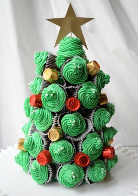 Christmas Tree Cupcakes  9 Creative Christmas Cupcake Ideas Kids Kubby