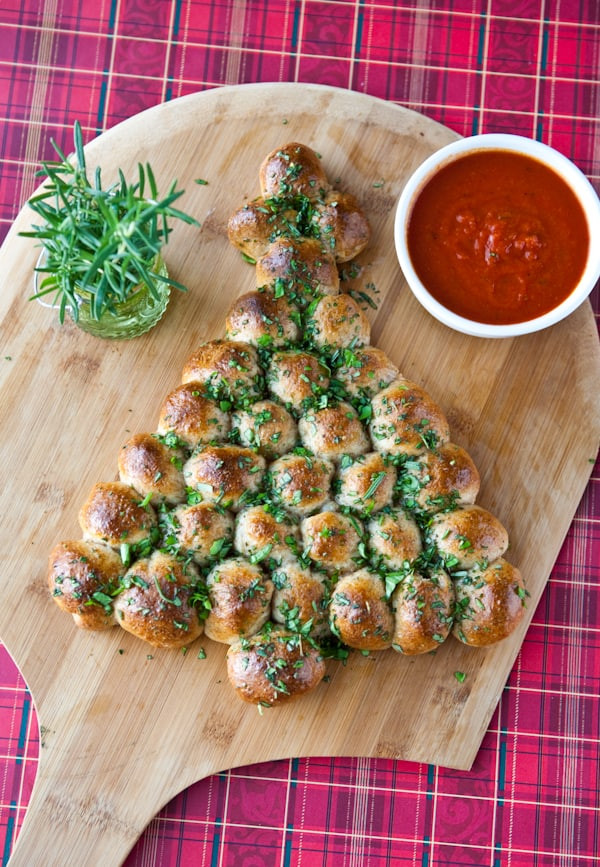 Christmas Tree Pull Apart Bread  Eclectic Recipes Cheese Stuffed Christmas Tree Pull Apart