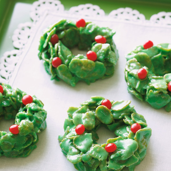 Christmas Wreath Cookies Recipe  Christmas Wreath Cookie Recipe