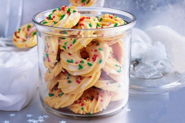 Christmas Wreath Cookies Recipe  Christmas wreath cookies recipe