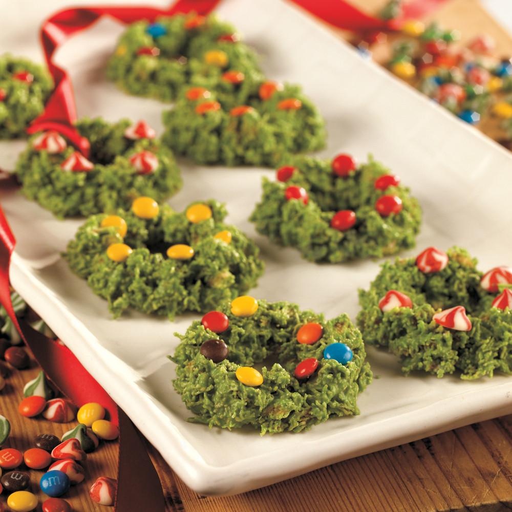 Christmas Wreath Cookies Recipe  Wreath Cookies Recipe