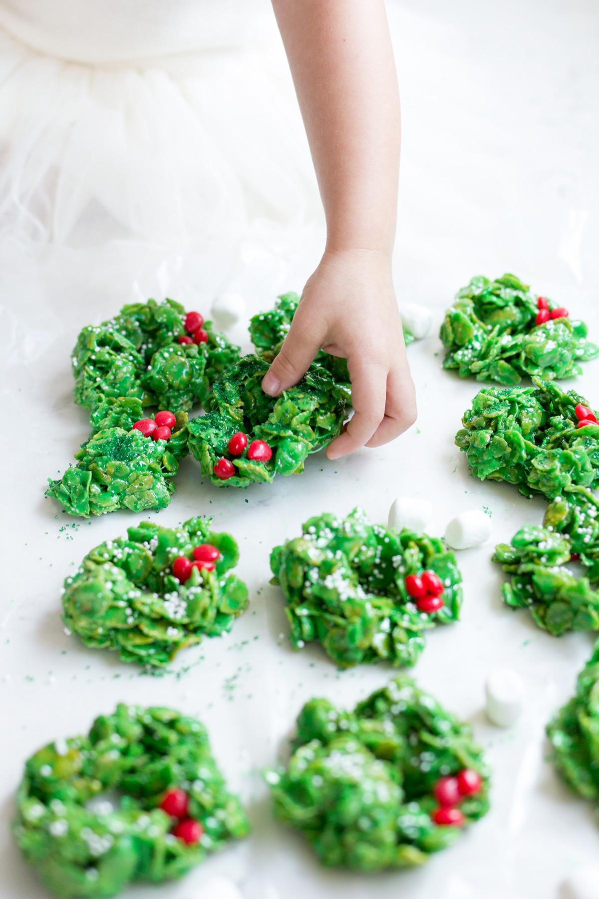 Christmas Wreath Cookies Recipe  Christmas Wreath Cookies Freutcake