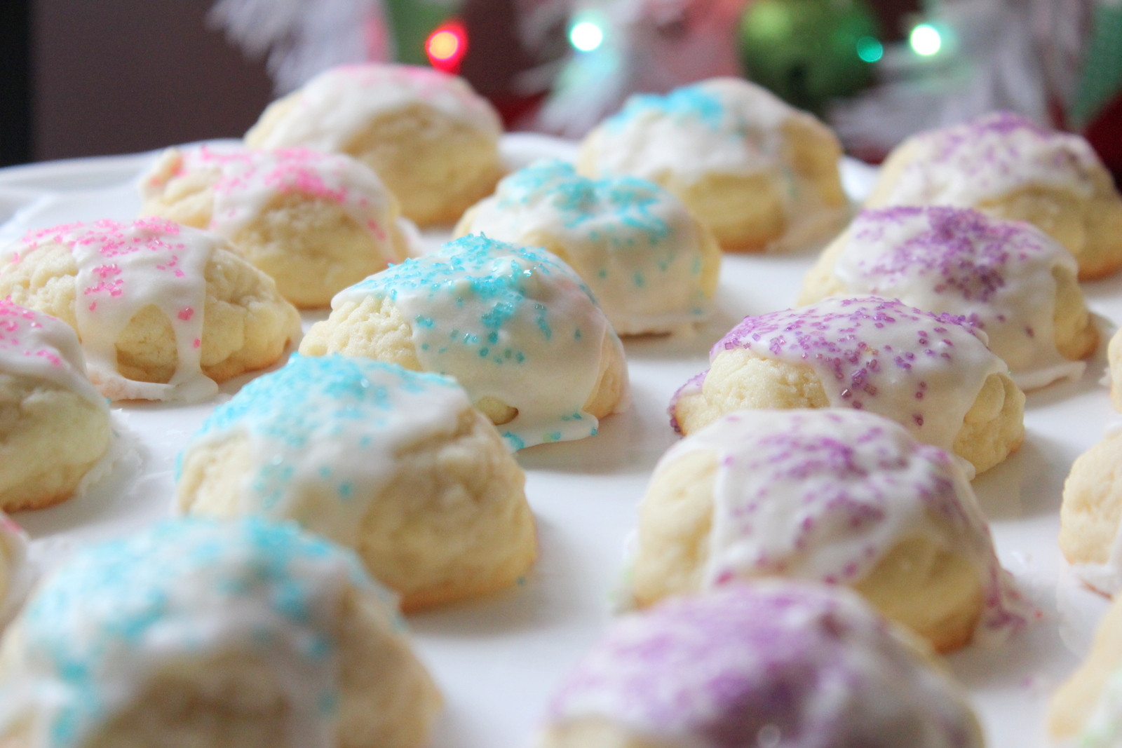 Classic Christmas Cookies  Punkie Pie s Place Butter Drop Cookies A Family