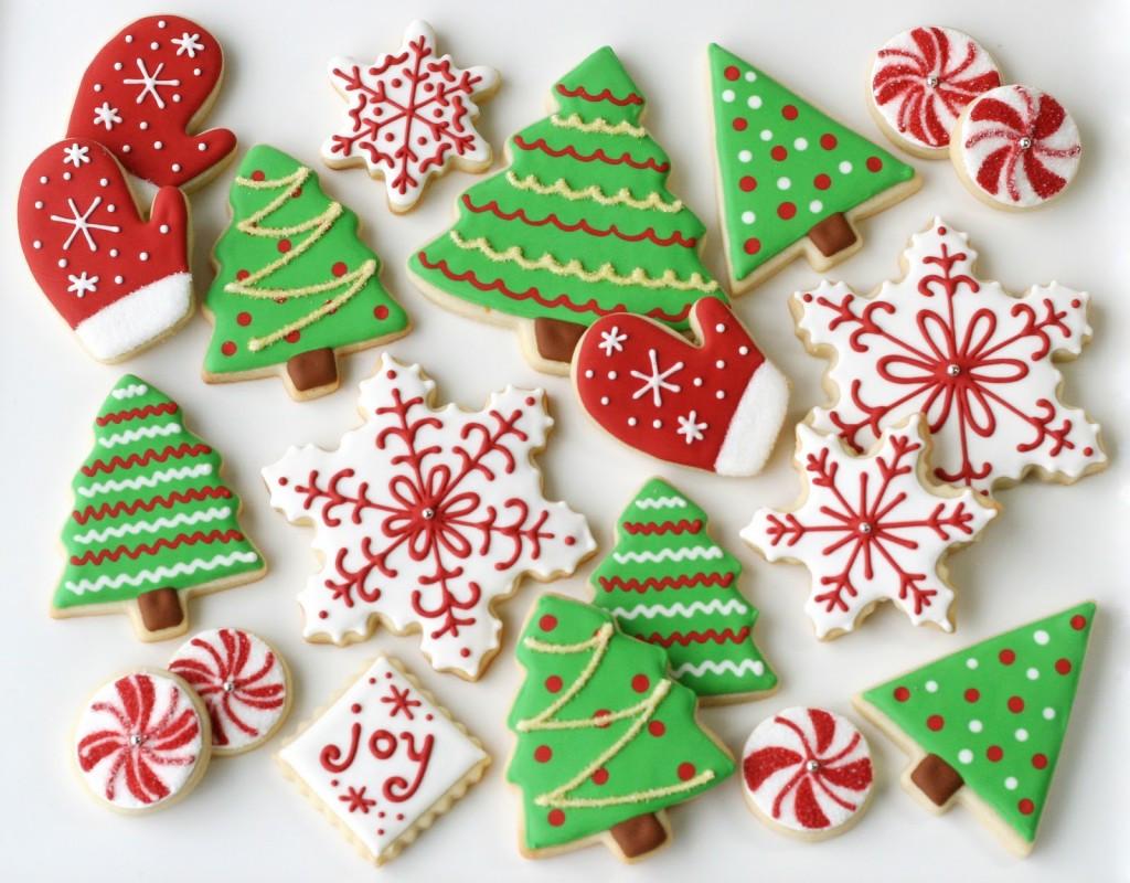 Classic Christmas Cookies  The Twelve Desserts of Christmas LADYHATTAN