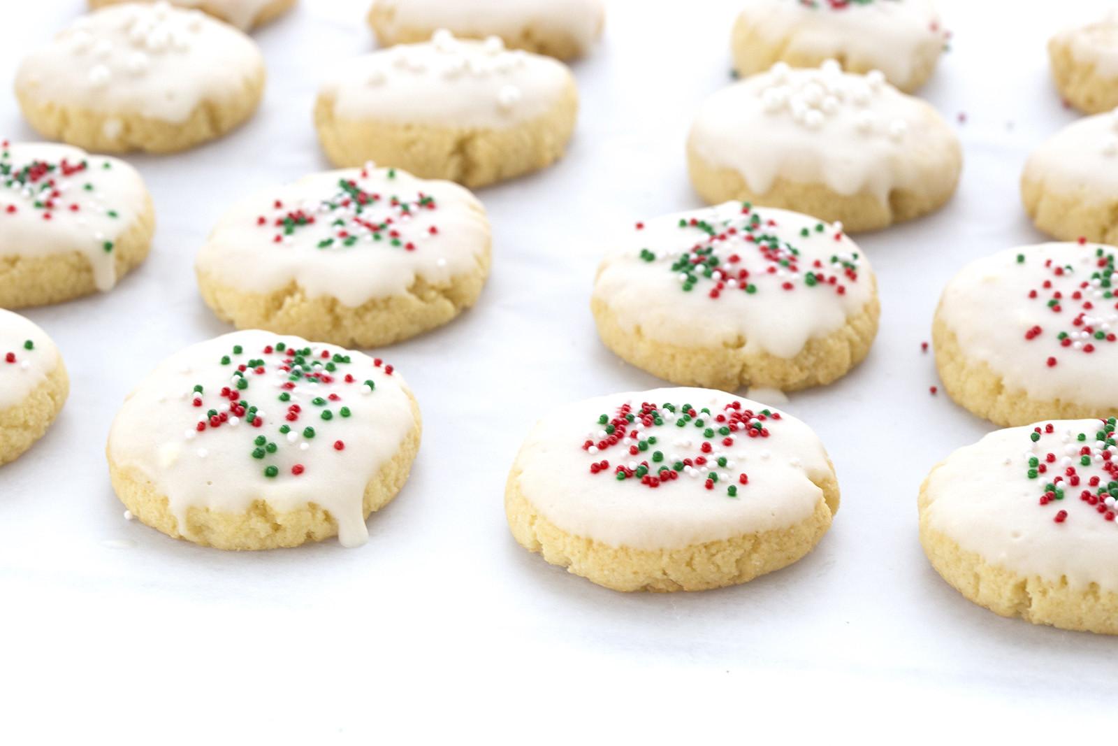 Classic Christmas Cookies  Classic Italian Christmas Cookies Recipes