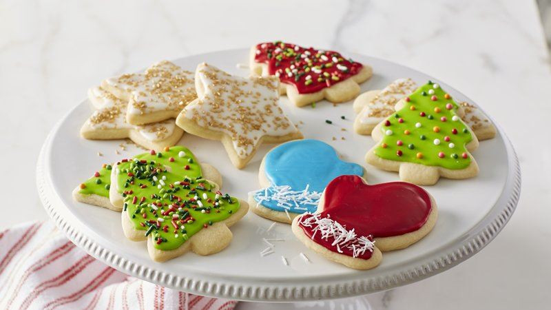 Classic Christmas Cookies  Classic Christmas Sugar Cookie Cutouts recipe from Betty