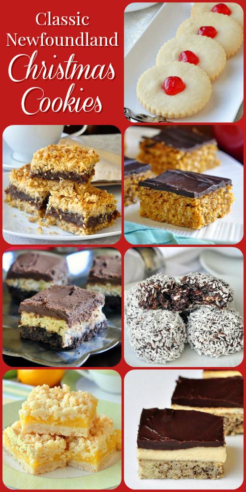 Classic Christmas Cookies  Classic Newfoundland Christmas Cookie Recipes