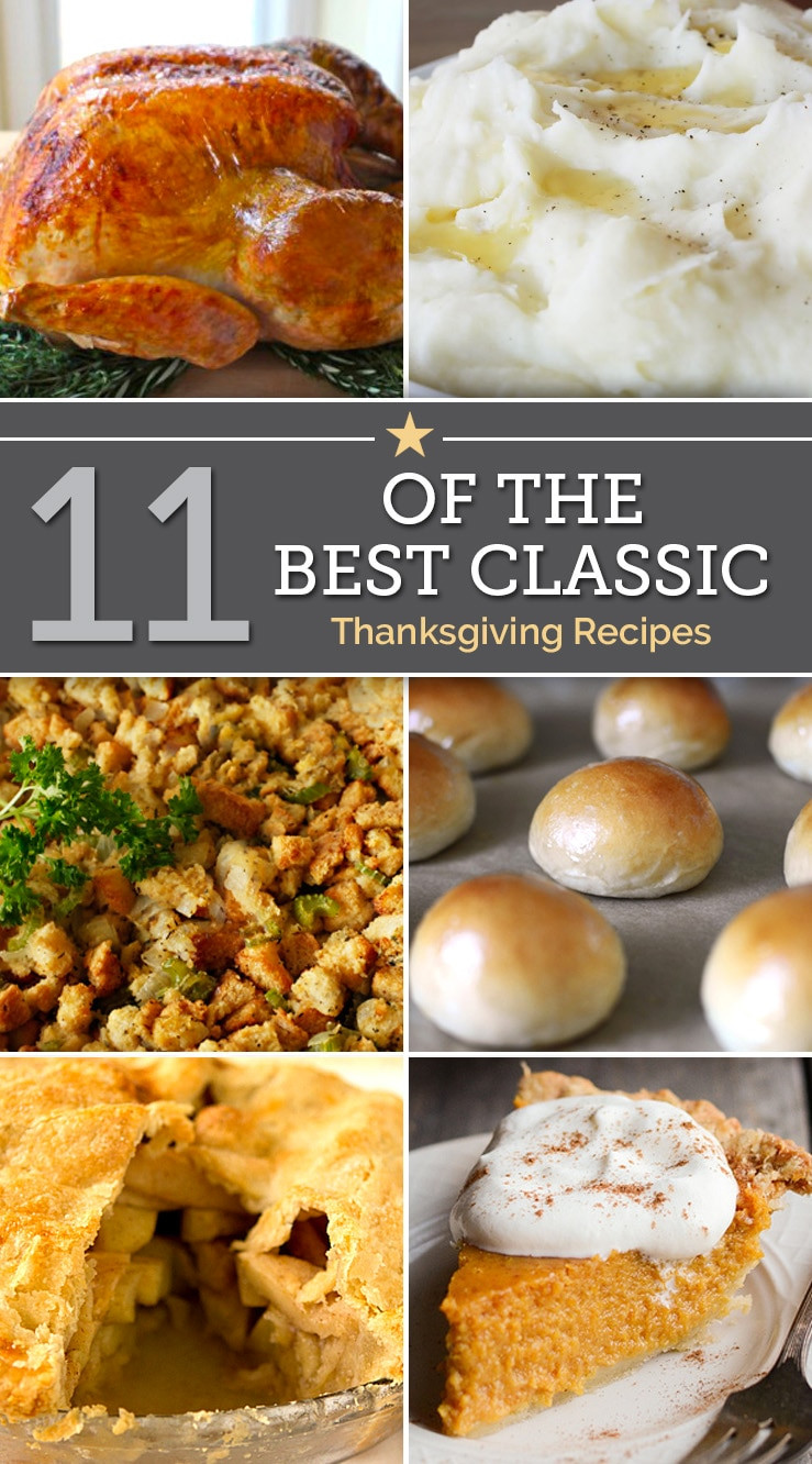 Classic Turkey Recipes Thanksgiving  11 of the Best Classic Thanksgiving Recipes thegoodstuff