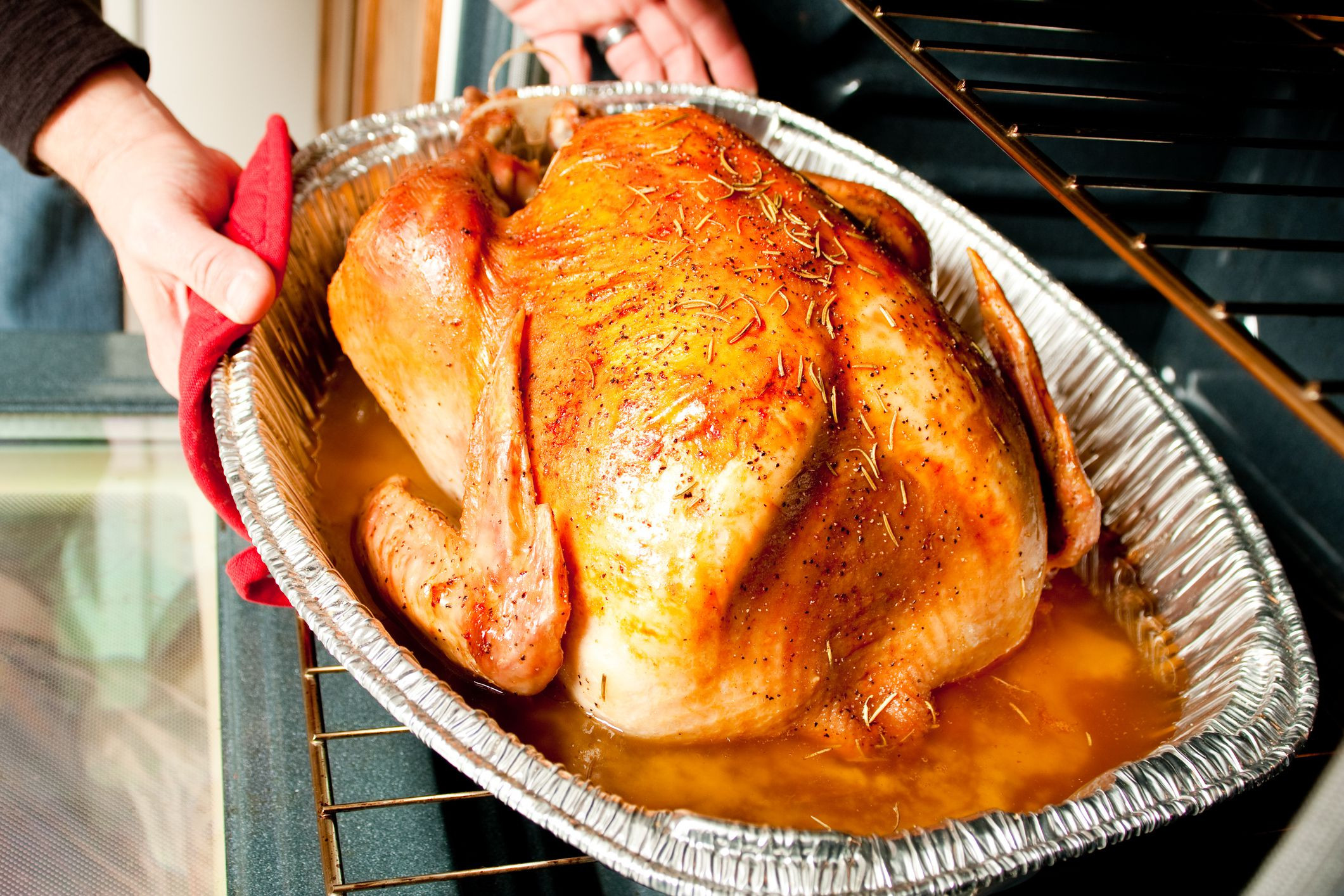 Cooked Thanksgiving Turkey  How to Cook a Frozen Turkey Without Thawing