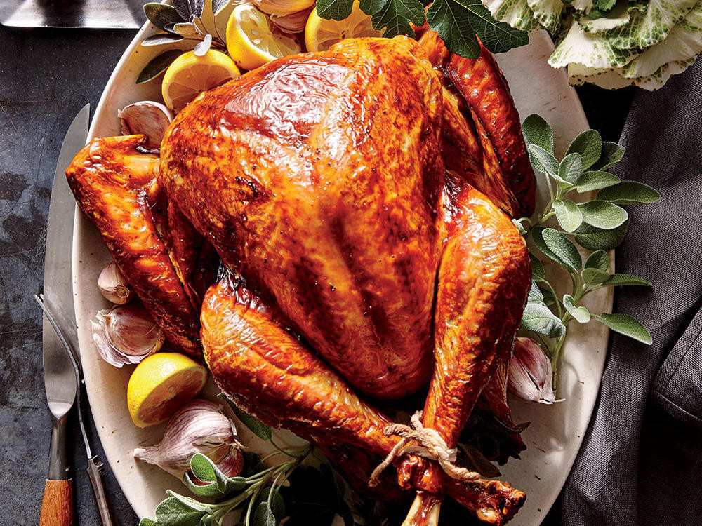 Cooked Thanksgiving Turkey  Tuscan Turkey Recipe Cooking Light