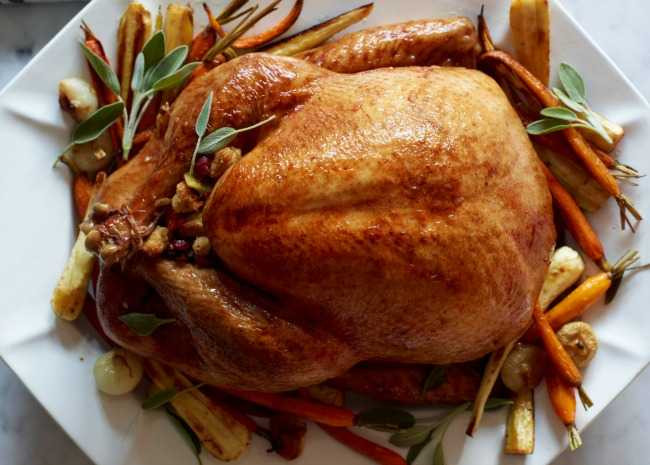 Cooked Thanksgiving Turkey  How To Cook A Turkey