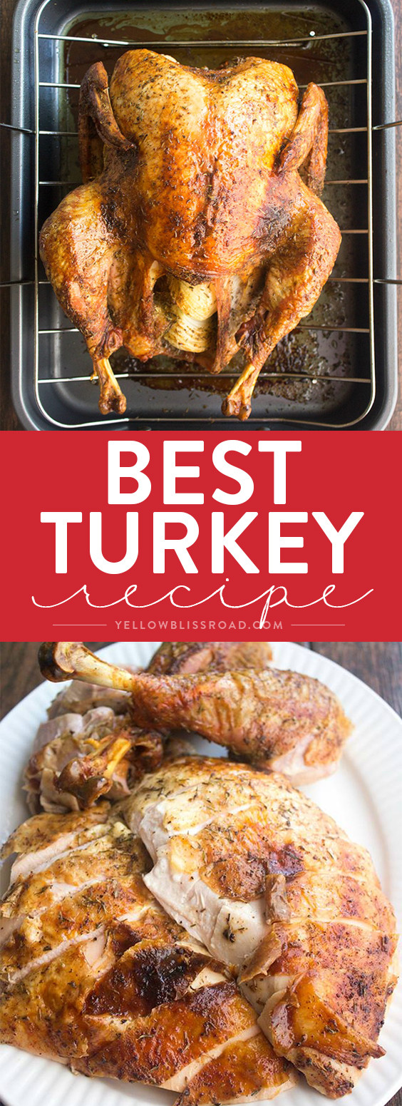 Cooked Turkey For Thanksgiving  Best Thanksgiving Turkey Recipe How to Cook a Turkey