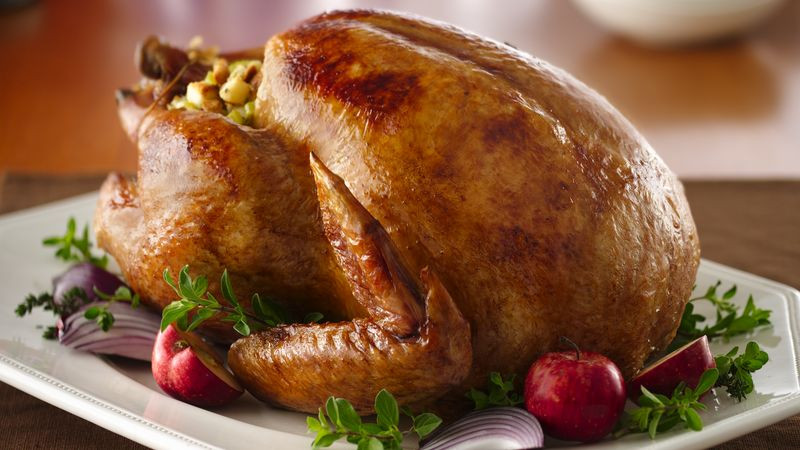 Cooked Turkey For Thanksgiving  Roast Turkey Recipe BettyCrocker