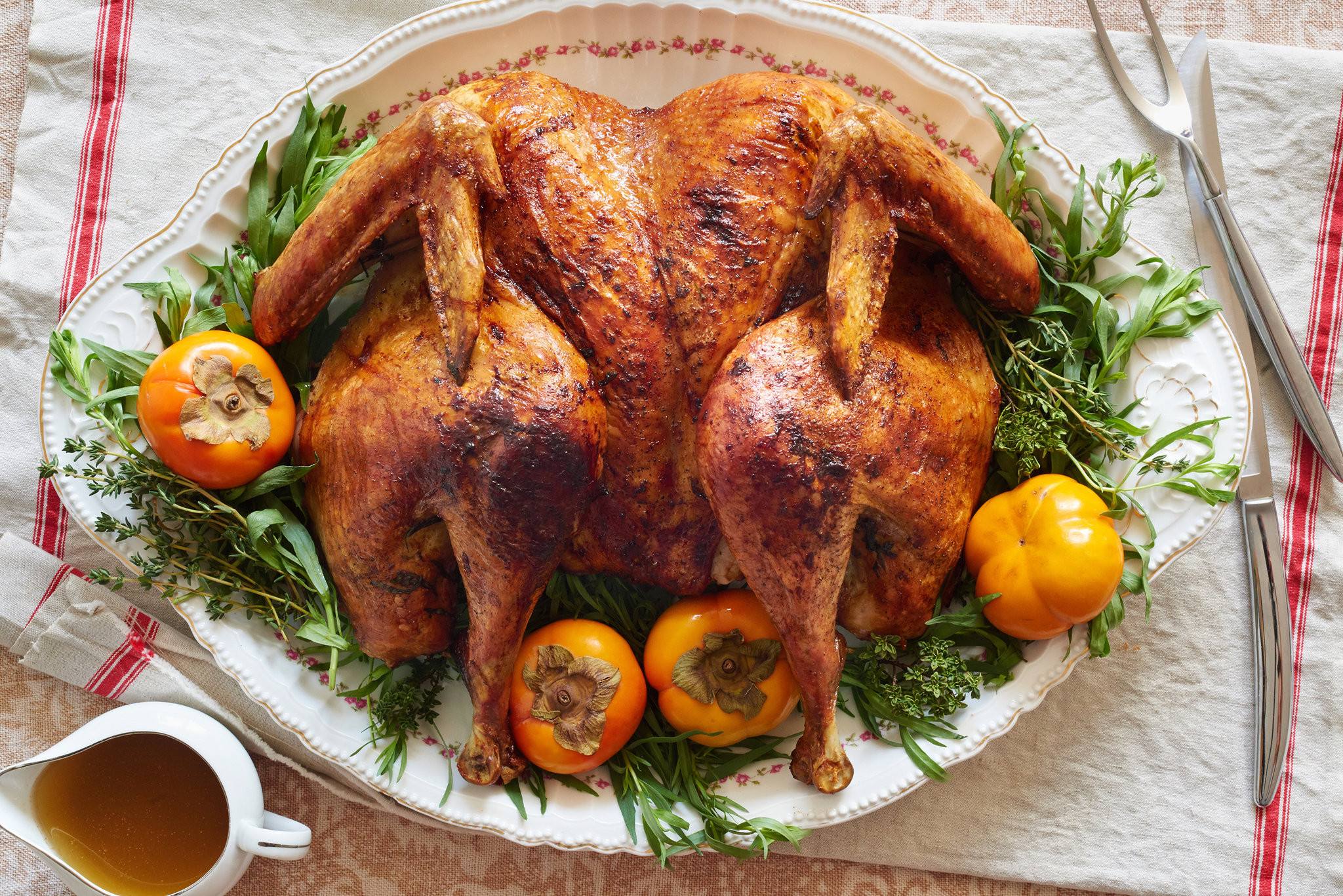Cooked Turkey For Thanksgiving  45 Minute Roast Turkey Recipe NYT Cooking