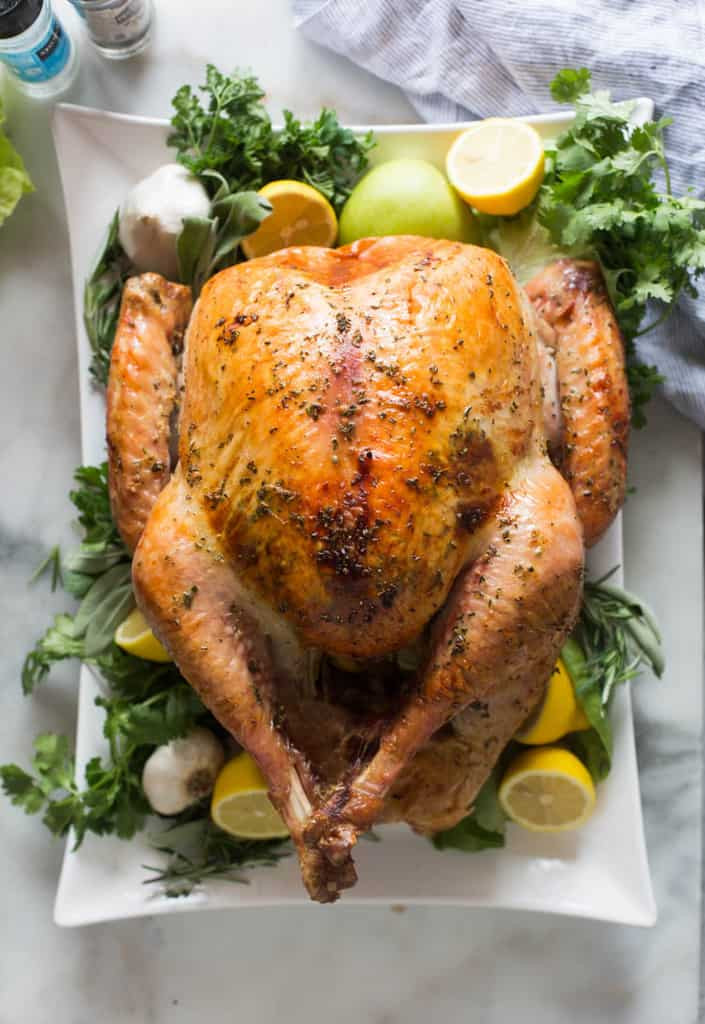 Cooked Turkey For Thanksgiving  Easy No Fuss Thanksgiving Turkey Tastes Better From Scratch