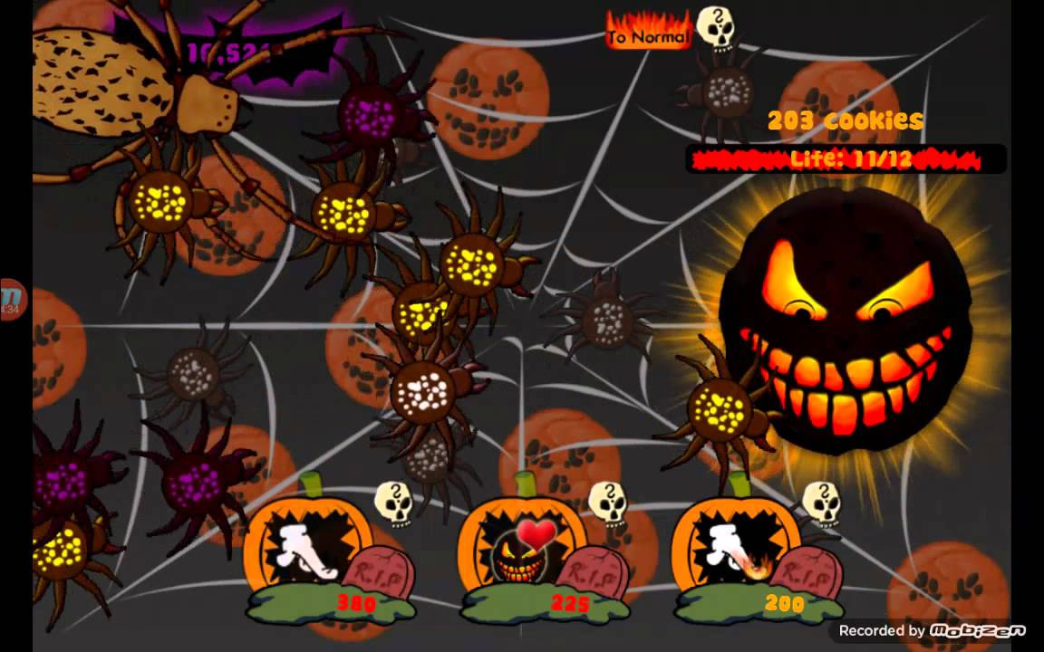 Cookie Clicker Halloween Cookies  Halloween event cookie clicker 1