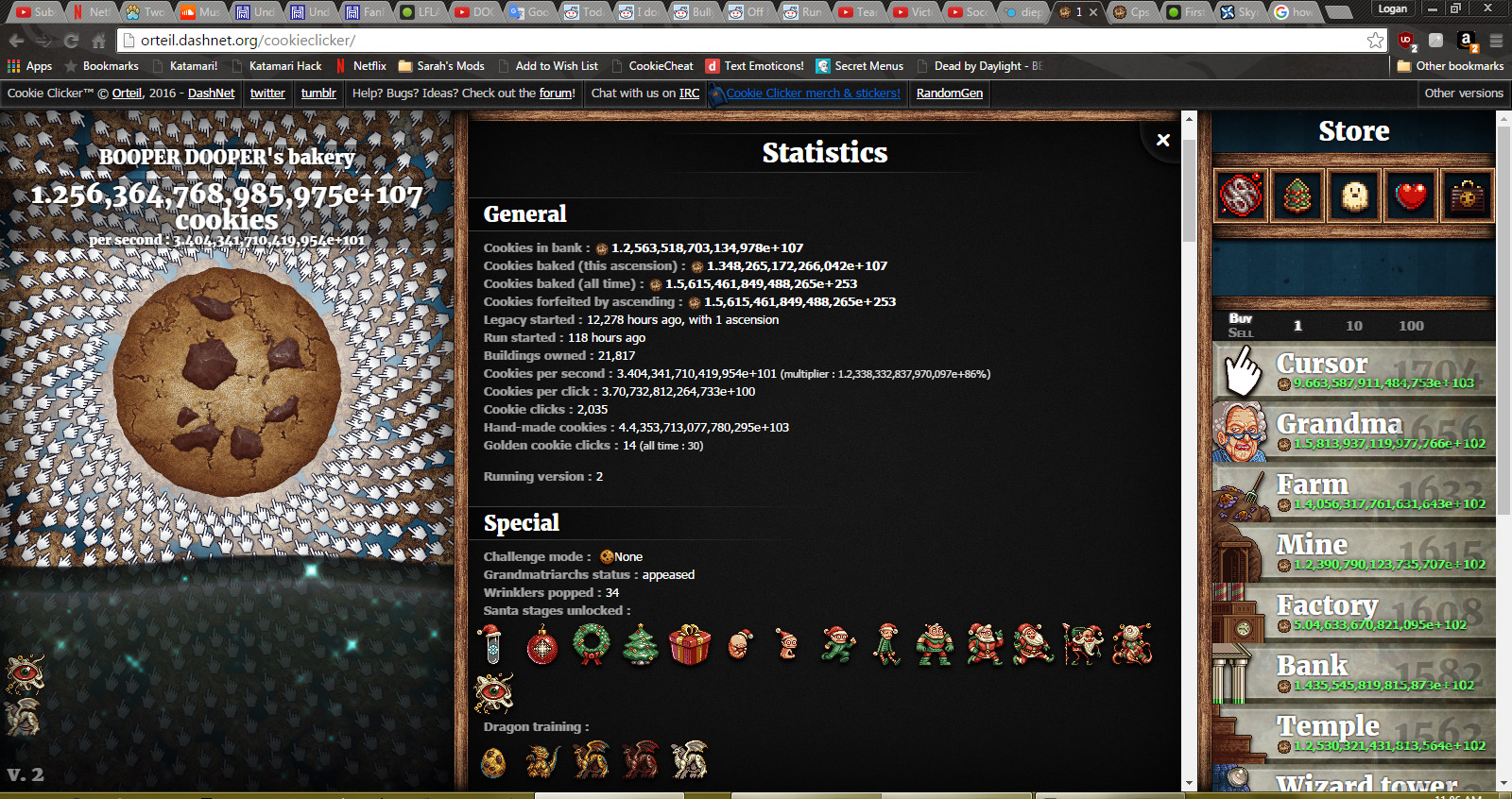 Cookie Clicker Halloween Cookies  Image Crazy CC Scores Cookie er Wiki