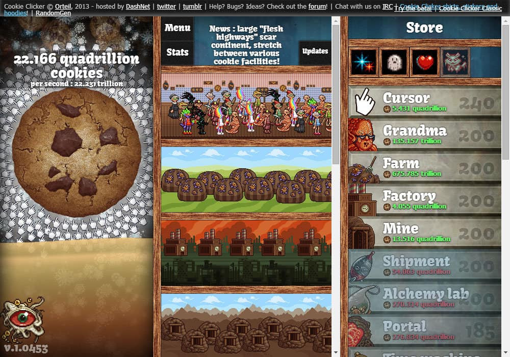 Cookie Clicker Halloween Cookies  Cookie er game Funny Games