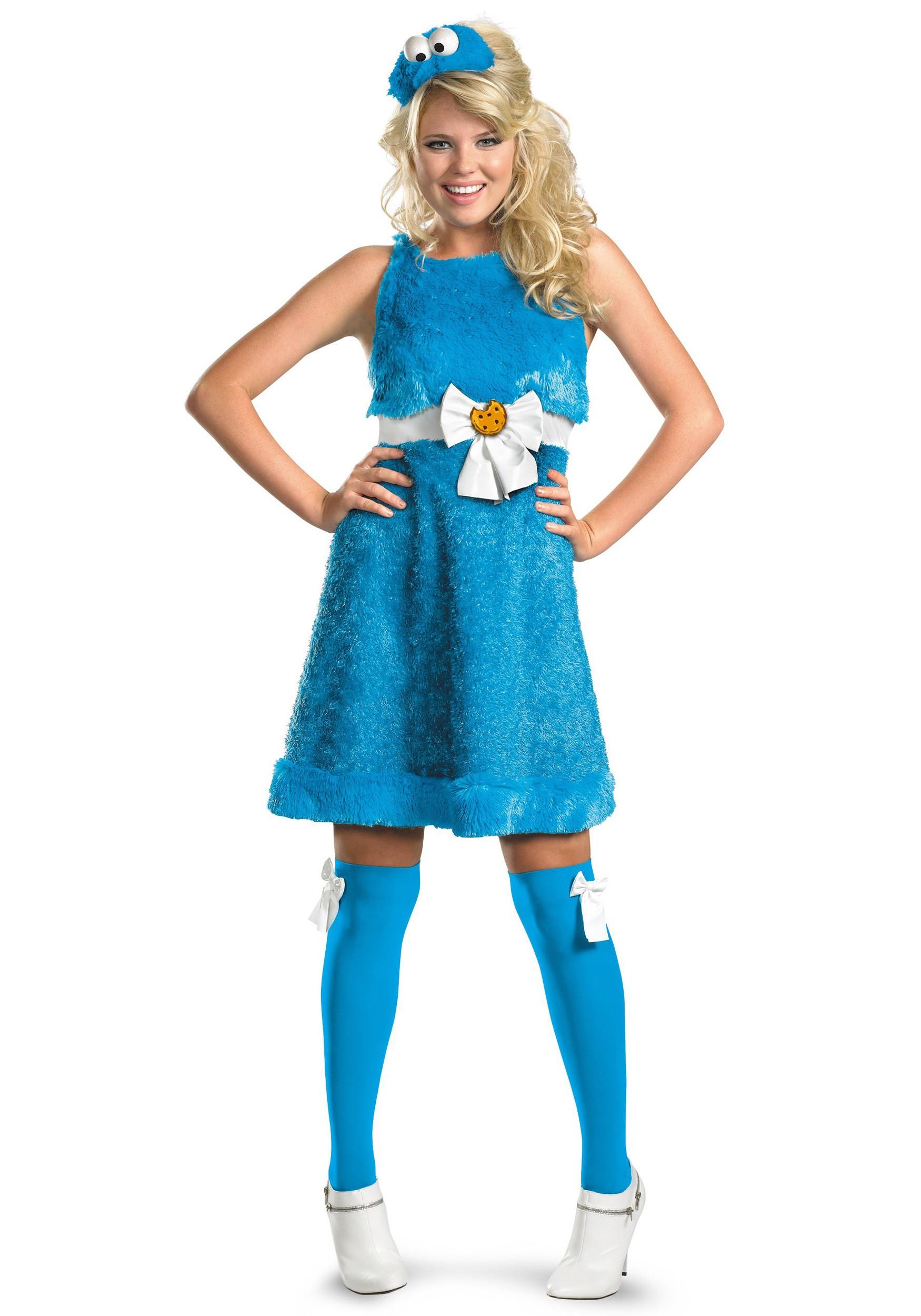 Cookies Halloween Costumes  Sassy Cookie Monster Costume