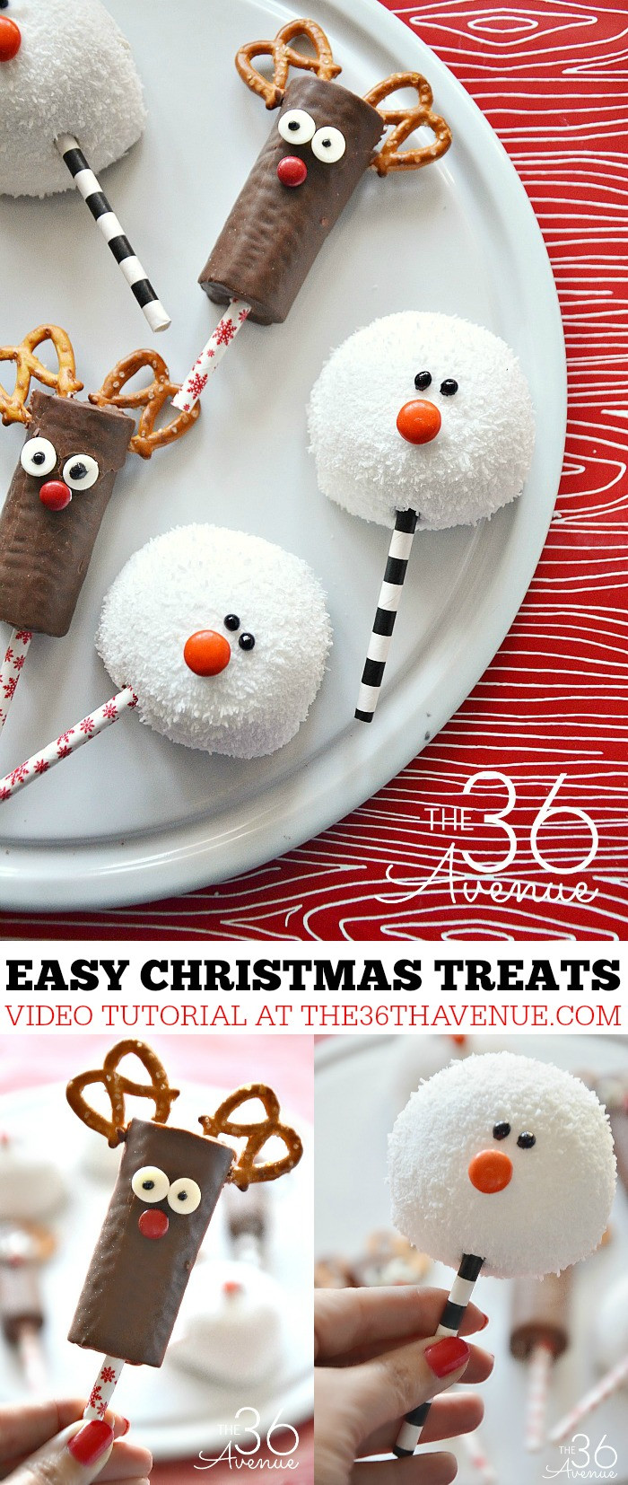 Cookies To Make For Christmas  Christmas Treats Reindeer and Snowman The 36th AVENUE