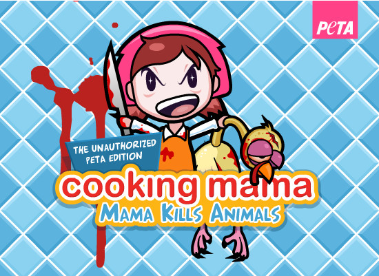 "Cooking Mama Thanksgiving Turkey  New PETA game sees ""Cooking Mama"" hating turkeys TechGeek"
