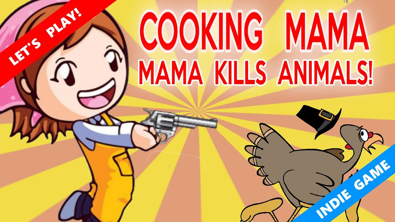 Cooking Mama Thanksgiving Turkey  Thanksgiving special Cooking Mama Mama kills animals