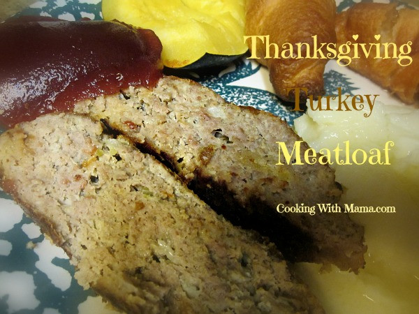 Cooking Mama Thanksgiving Turkey  Thanksgiving Turkey Meatloaf
