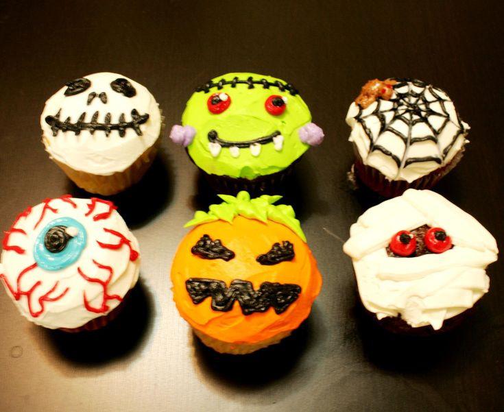 Cool Halloween Cupcakes  Halloween Muffins — Rezepte Suchen