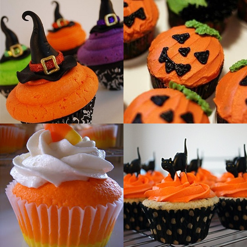Cool Halloween Cupcakes  Pop Culture And Fashion Magic Easy Halloween food ideas