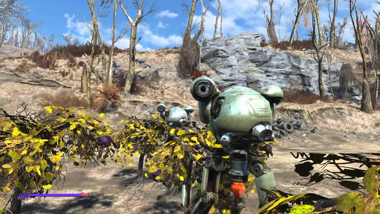 Corn Fallout 4  Fallout 4 MUTFRUIT & CORN FREE Robot Farm